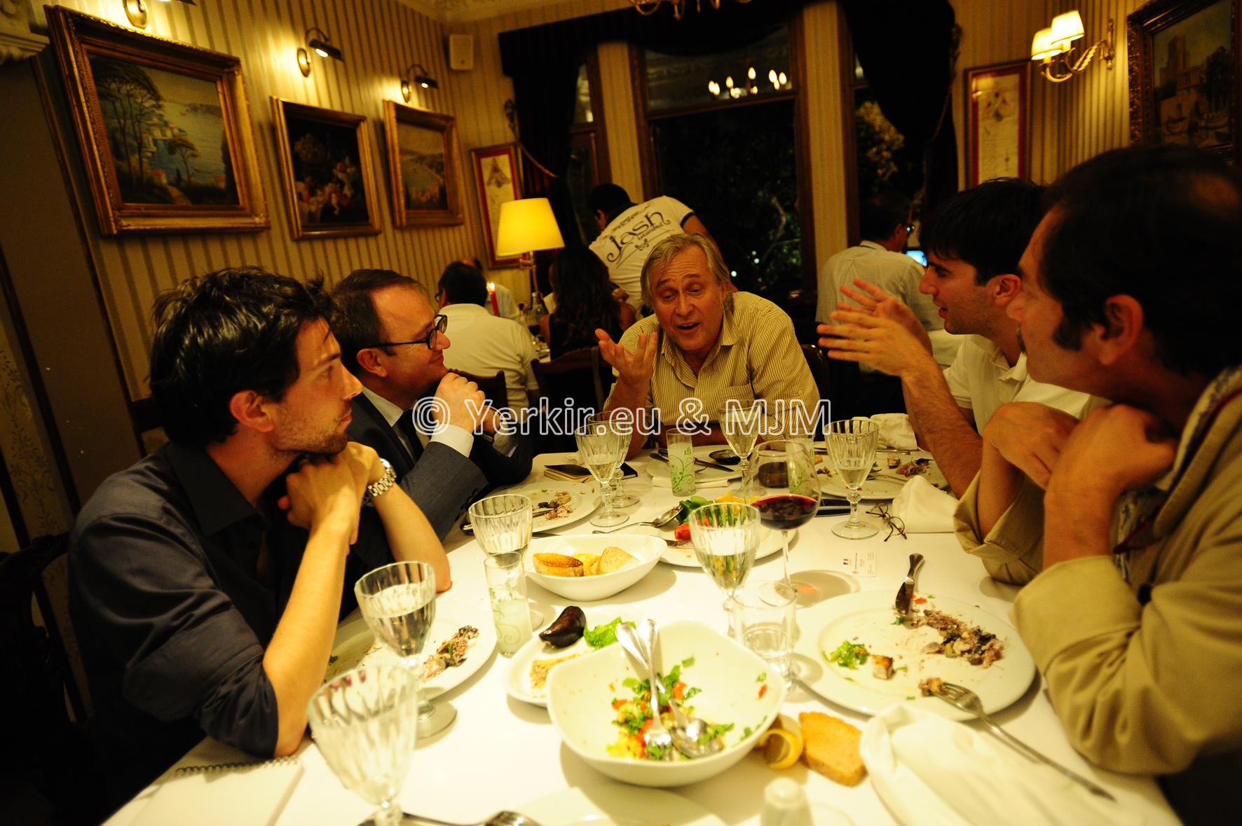 Rencontre avec les intellectuels Ali Bayramoğlu et Cengiz Aktar