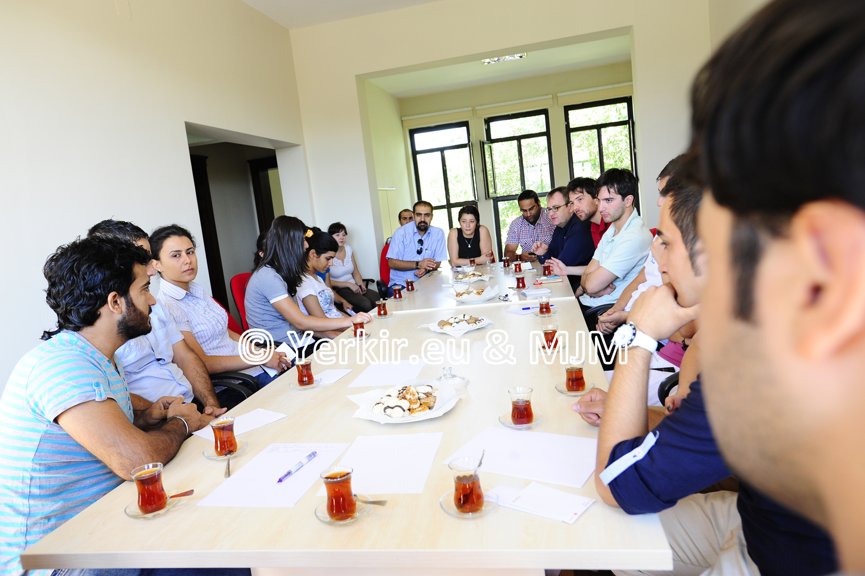 Rencontre avec l'Agenda 21, conseil des associations étudiantes de Diyarabkir