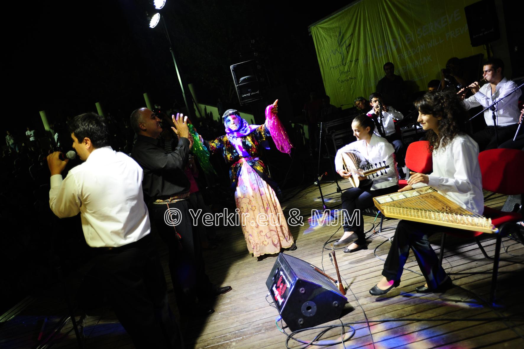 Diyarbakir, concert du Van Project