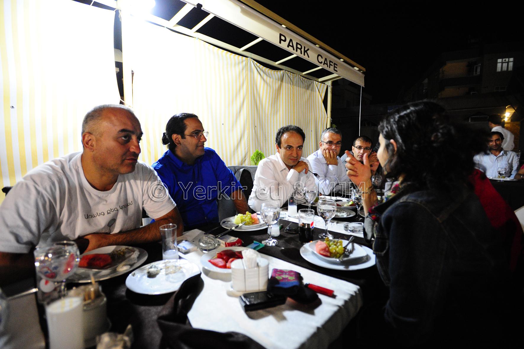 Dîner avec Osman Baydemir, maire de Diyarbakir