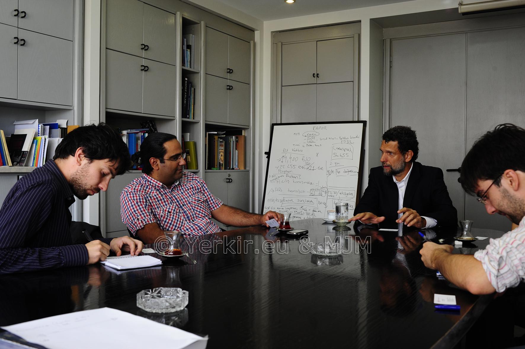 Rencontre avec Osman Kavala de la Fondation Anadolu Kültür