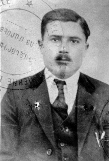 Ameriguian Antranik né à Mouch le 7-05-1886