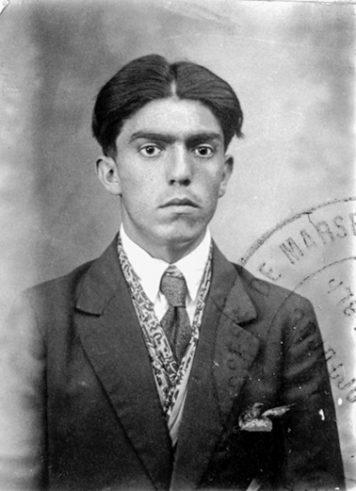 Kazarian Hagop né à Bartin le 6-04-1902