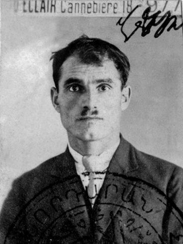 Keusseyan Sahak né à Sivas le 17-09-1899