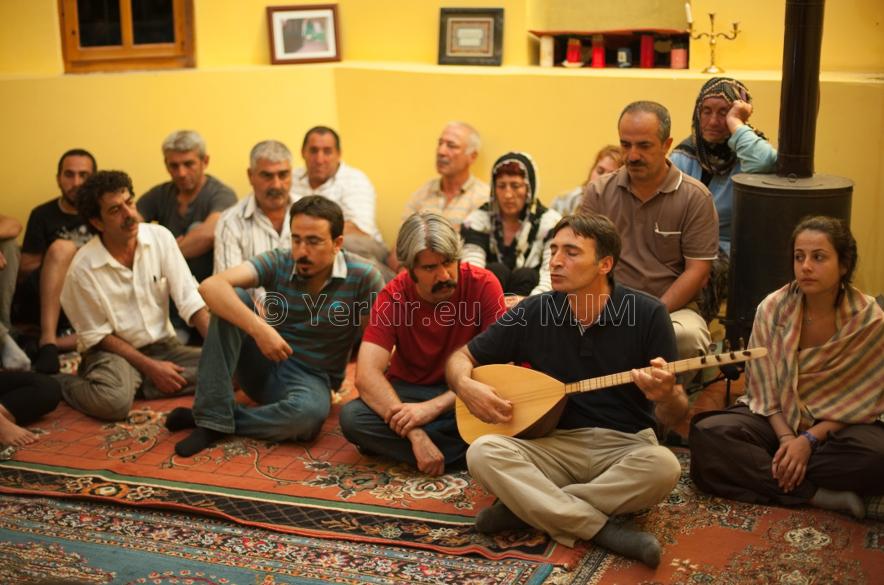 Cérémonie religieuse alévie, Dersim, Juillet 2011