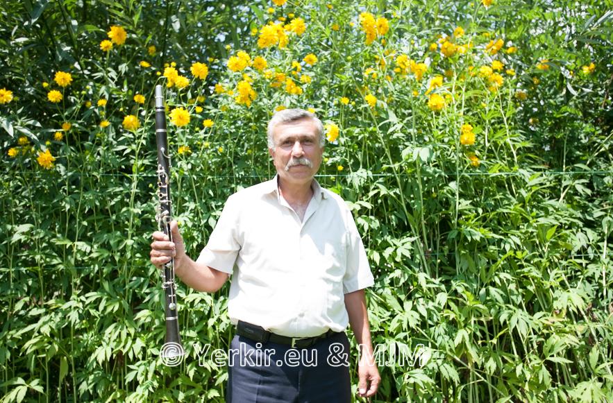 Clarinettiste de Malatya dont le maître qui lui a tout appris était un arménien