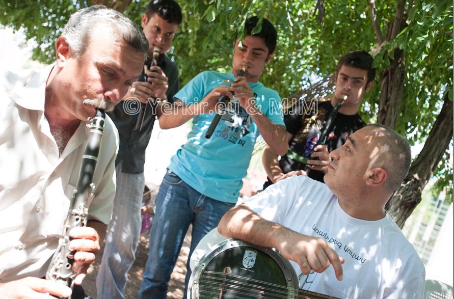 Malatya, workshop du Van Project avec des musiciens locaux, Juillet 2011
