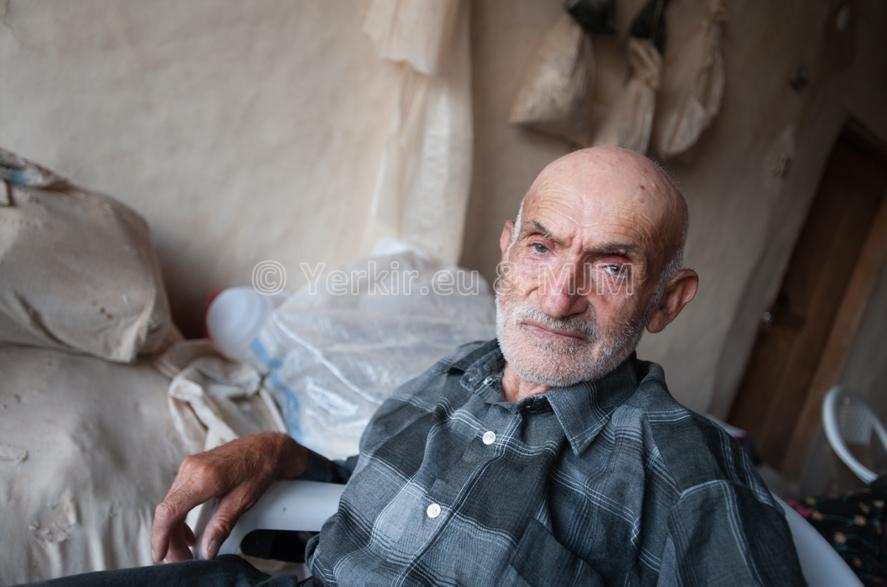 Un des seuls Arméniens « déclaré » de la région de Malatya, Papken Yétérian, 81 ans, Juillet 2011