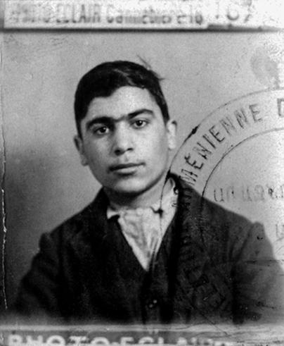 Yeravanian Bedros né le 7/03/1912 à Adana