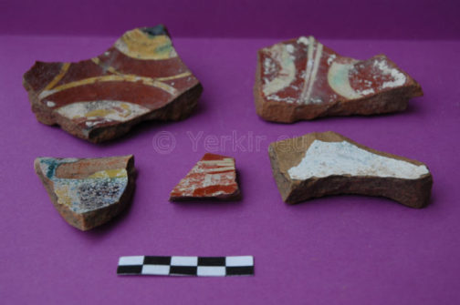 Céramiques du 1er siècle av. J.C trouvés sur le site de Tigranakert
