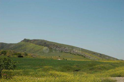 Vue d'ensemble de la zone de recherche des ruines de Tigranakert